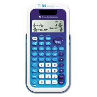 Texas Instruments TI-34 MultiView Scientific Calculator, 16-Digit LCD TEXTI34MULTIV