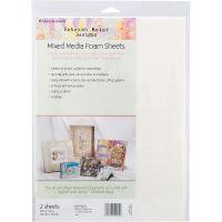 "Rebekah Meier Designs Mixed Media Foam Sheets 9""X12"" 2/Pkg NOTM456147"