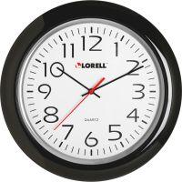 "Lorell 13-1/4"" Round Quartz Wall Clock LLR60989"