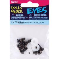 Shank Back Solid Eyes 9mm 8/Pkg NOTM380728