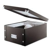 Snap-N-Store Media Storage Box, Holds 120 Slim/60 Standard Cases IDESNS01658