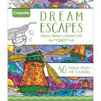 """Crayola Escapes Coloring Book 8""""X10"""" NOTM403028"""