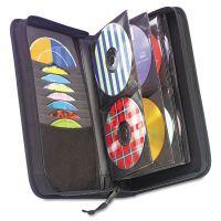 Case Logic CD/DVD Wallet, Holds 72 Discs, Black CLG3200042