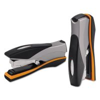 Swingline Optima Desktop Staplers, Full Strip, 40-Sheet Capacity, Silver/Black/Orange SWI87845
