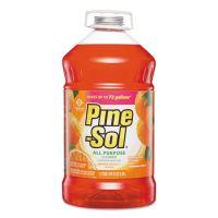 Pine-Sol All-Purpose Cleaner, Orange Energy, 144 oz Bottle, 3/Carton CLO41772CT