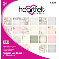 "Heartfelt Creations Double-Sided Paper Pad 12""X12"" 24/Pkg NOTM035457"