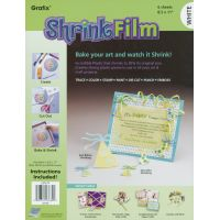 "Shrink Film 8.5""X11"" 6/Pkg NOTM241014"