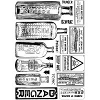 """Crafty Individuals Unmounted Rubber Stamp 4.75""""X7"""" Pkg NOTM082678"""