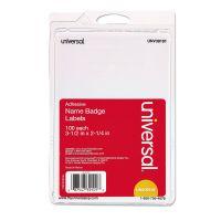 Universal Self-Adhesive Name Tags  UNV39101