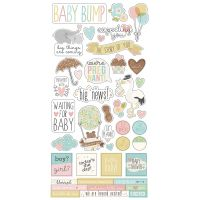 "Simple Sets Oh Baby! Expecting Cardstock Stickers 6""X12"" NOTM458066"