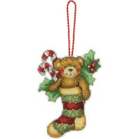 Dimensions Susan Winget Bear Ornament Counted Cross Stitch Kit NOTM050937