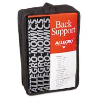 Allegro Economy Back Support Belt, Large, Black ALG717603