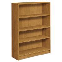 HON 1890 Series Bookcase, Four Shelf, 36w x 11 1/2d x 48 3/4h, Harvest HON1894C