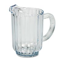 Rubbermaid Commercial Bouncer Plastic Pitcher, 60oz, Clear RCP333800CR