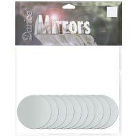 Round Glass Mirrors 10/Pkg NOTM223494