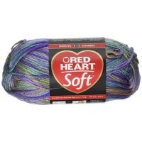 Red Heart Soft Yarn - Watercolors NOTM060677