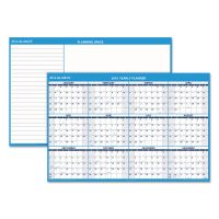 AT-A-GLANCE Horizontal Erasable Wall Planner, 48 x 32, Blue/White, 2019 AAGPM30028