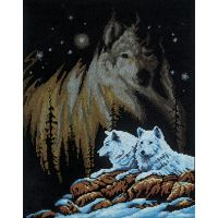 Northern Lights Counted Cross Stitch Kit NOTM250803