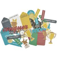 Game On! Collectables Cardstock Die-Cuts NOTM436067