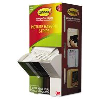 """Command Picture Hanging Strips, 5/8"""" x 2 3/4"""", White, 50/Carton MMM17201CABPK"""