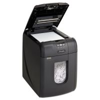 Swingline Stack-and-Shred 130X Auto Feed Super Cross-Cut Shredder, 130 Sheet Capacity SWI1757571