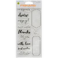 "Fiskars Lia Griffith 4""X8"" Stamps NOTM393274"