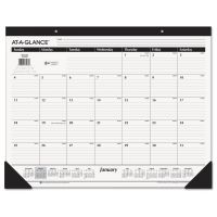 AT-A-GLANCE Ruled Desk Pad, 22 x 17, January-December, 2019 AAGSK2400