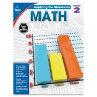 Carson-Dellosa Grade 2 Applying the Standards Math Workbk Education Printed Book for Mathematics CDP104848