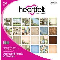 "Heartfelt Creations Double-Sided Paper Pad 12""X12"" 24/Pkg NOTM254852"