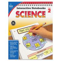 Carson-Dellosa Grade 2 Science Interactive Notebook Interactive Education Printed Book for Science CDP104906