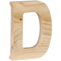 """Wood Letter 5"""" NOTM135597"""