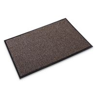 Crown Cross-Over Indoor/Outdoor Wiper/Scraper Mat, Olefin/Poly, 36 x 60, Brown CWNCS0035BR