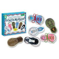 I Can Tie My Shoes Lacing Cards CDP846000