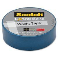 Scotch Expressions Washi Tape/ Masking Tape MMMC314BLU