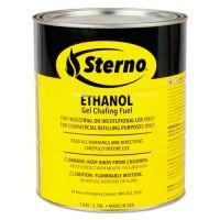 Sterno Ethanol Gel Fuel Can, 1 gal STE20266