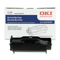 Oki 44574301 Drum, 30,000 Page-Yield, Black OKI44574301