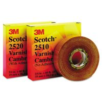 "3M Scotch 2520 Varnished Cambric Tape, 3/4"" x 60ft MMM04836"