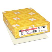 Neenah Paper CLASSIC Linen Writing Paper, 24lb, 8 1/2 x 11, Natural White, 500 Sheets NEE05201