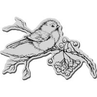 "Stampendous Christmas Cling Rubber Stamp 5.5""X4.5"" Sheet NOTM252682"
