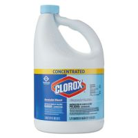 Clorox Concentrated Germicidal Bleach, Regular, 121oz Bottle, 3/Carton CLO30966CT