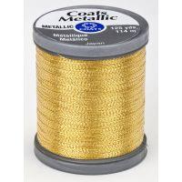 Coats Metallic Embroidery Thread - Bright Gold (S990_9430) NOTM026625