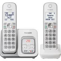 Panasonic KX-TGD532W DECT 6.0 1.93 GHz Cordless Phone - White PANKXTGD532W