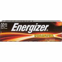 Energizer Industrial Alkaline Batteries, AA, 24 Batteries/Box EVEEN91