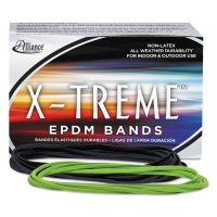 Alliance X-treme File Bands, 117B, 7 x 1/8, Lime Green, Approx. 175 Bands/1lb Box ALL02005