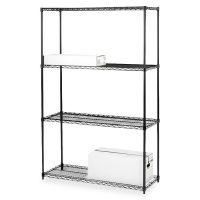 Lorell 4-Shelf Starter Unit Wire Shelving LLR70060