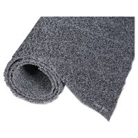 Crown Diamond Deluxe Duet Vinyl-Loop Scraper Mat, Vinyl, 48 x 240, Gray/Black CWNDXMU42BG
