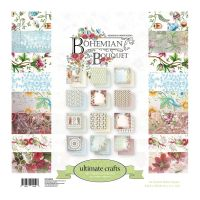 """Ultimate Crafts Double-Sided Paper Pad 12""""X12"""" 24/Pkg NOTM283224"""