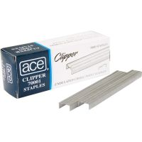 "Advantus Undulated 1/4"" Staples ACE70001"