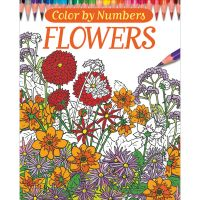 Chartwell Books: Color By Numbers - Flowers Coloring Book  NOTM344586
