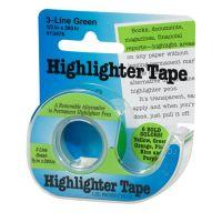 """Fluorescent Highlighter Tape .5""""X720"""" NOTM017411"""